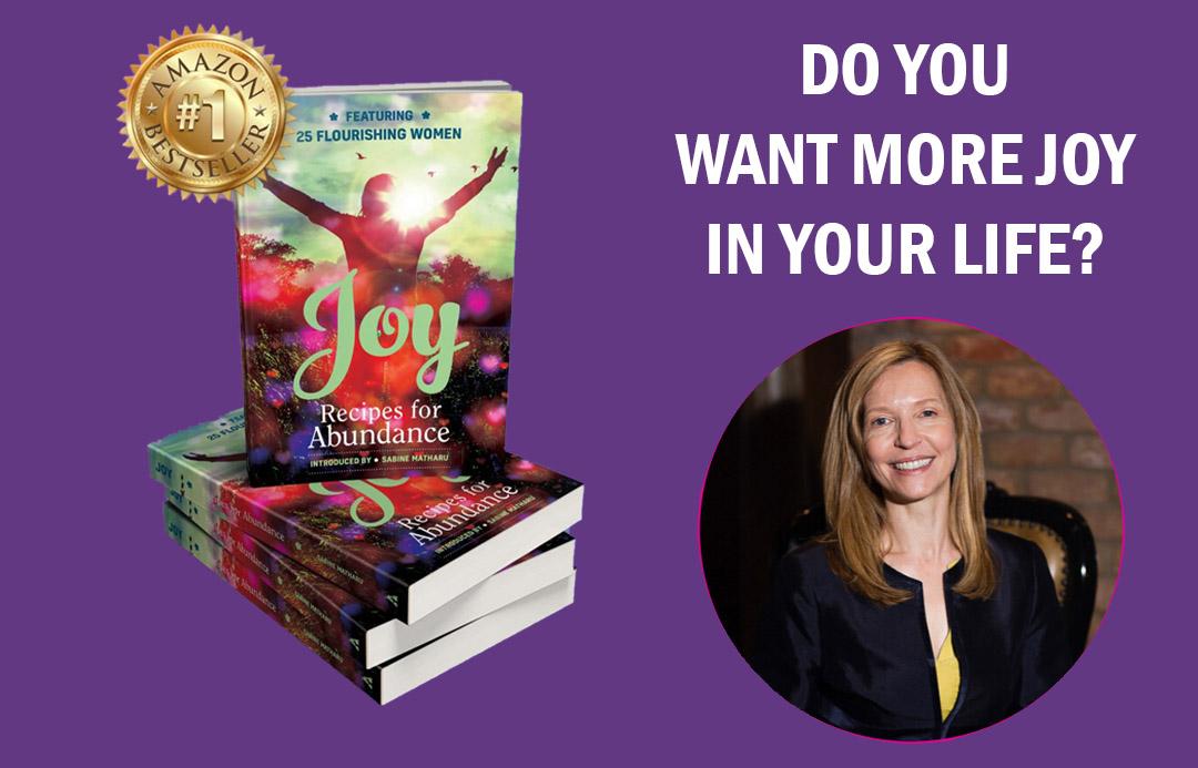Jelena book promo - Title Joy - Recipes for Abundance